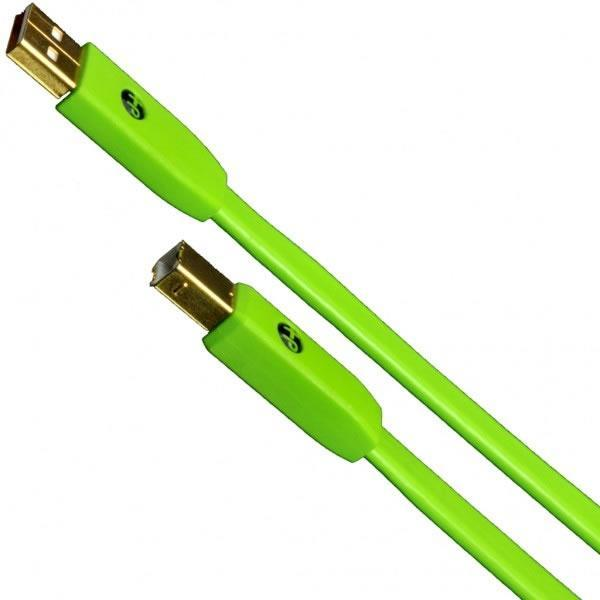 Oyaide USB Cable Class B (Green) 2.0M - Rock and Soul DJ Equipment and Records