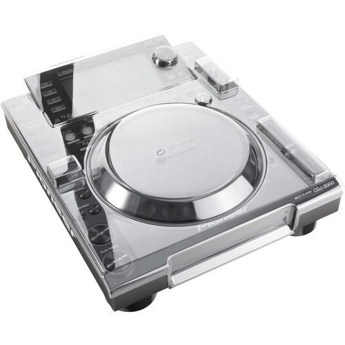 Decksaver Pioneer CDJ-2000 Nexus Smoked / Clear Cover with Clear Faceplate - Rock and Soul DJ Equipment and Records