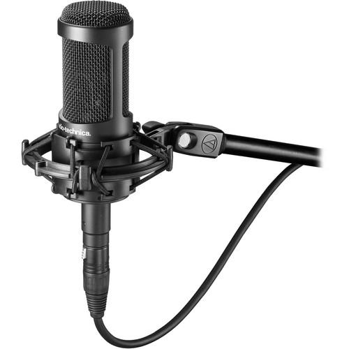 Audio-Technica AT2050 Multi-Pattern Condenser Microphone + Samson Tourtek 15ft. Microphone Cable
