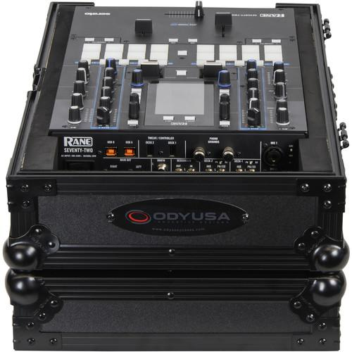 Odyssey Innovative Designs Flight Zone Rane Seventy-Two DJ Mixer Case (Black) - Rock and Soul DJ Equipment and Records