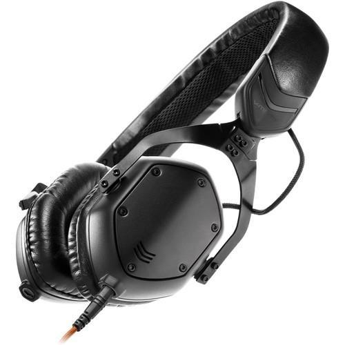 V-MODA XS On-Ear Headphones (Matte Black Metal) - Rock and Soul DJ Equipment and Records