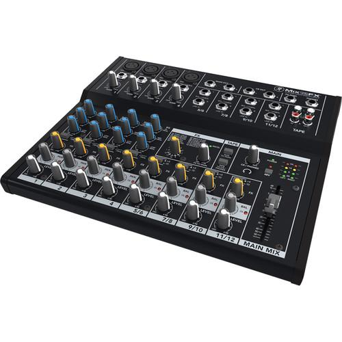 Mackie Mix12FX - 12-Channel Compact Mixer with Effects - Rock and Soul DJ Equipment and Records