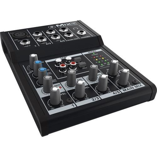 Mackie Mix5 - 5-Channel Compact Mixer - Rock and Soul DJ Equipment and Records