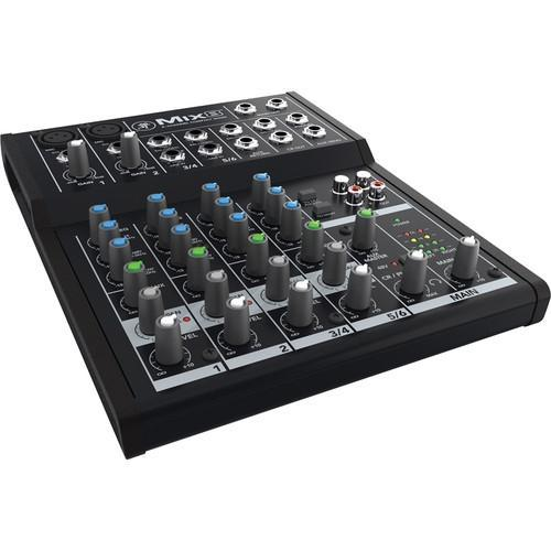 Mackie Mix8 - 8-Channel Compact Mixer - Rock and Soul DJ Equipment and Records