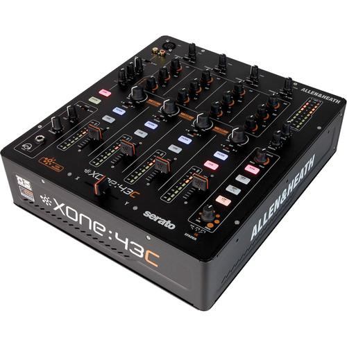 Allen & Heath XONE:43C - 4+1 Channel DJ Mixer with Soundcard - Rock and Soul DJ Equipment and Records