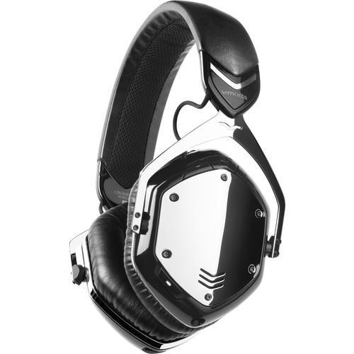 V-MODA Crossfade Wireless Headphones (Chrome) - Rock and Soul DJ Equipment and Records