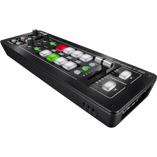Roland V-1HD Portable 4 x HDMI Input Switcher - Rock and Soul DJ Equipment and Records