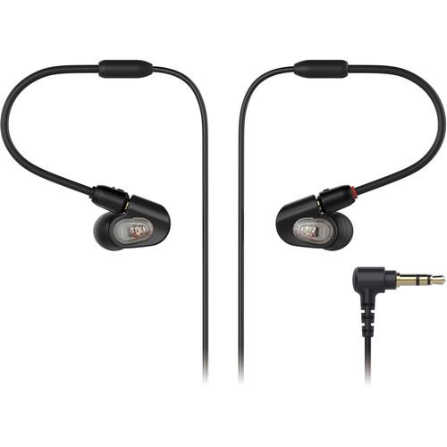 Audio-Technica ATH-E50 Professional In-Ear Monitor Headphones - Rock and Soul DJ Equipment and Records