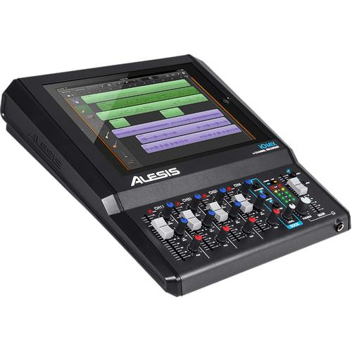 Alesis iO Mix - 4 Channel Recorder for iPad - Rock and Soul DJ Equipment and Records