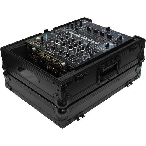 "Odyssey Innovative Designs Flight Zone Series Universal 12"" DJ Mixer Case with Extra Cable Space"