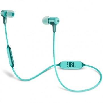 JBL E25BT Bluetooth In-Ear Headphones (Teal)