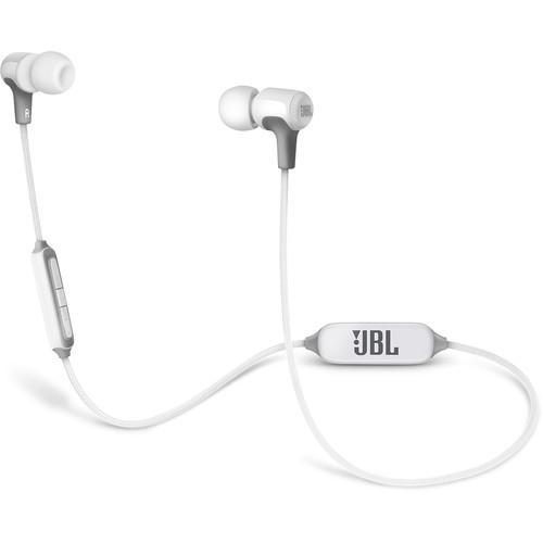 JBL E25BT Bluetooth In-Ear Headphones (White)
