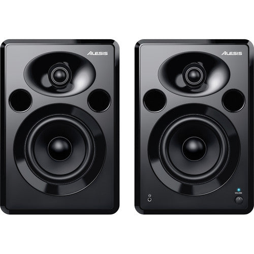 "Alesis Elevate 5 MKII - 5"" Two-Way Active Desktop Studio Monitors (Pair) - Rock and Soul DJ Equipment and Records"