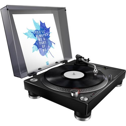 Pioneer PLX-500-K Direct Drive Turntable in Black (Open Box) - Rock and Soul DJ Equipment and Records
