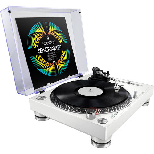 Pioneer PLX-500-W Direct Drive Turntable in White - Rock and Soul DJ Equipment and Records