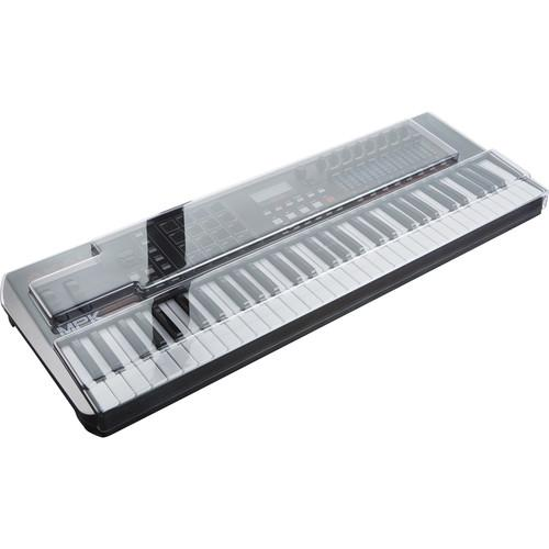 Decksaver Cover for Akai Professional MPK261 Keyboard Controller (Smoked/Clear) - Rock and Soul DJ Equipment and Records