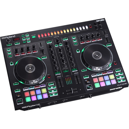 Roland DJ-505 2-Channel, 4-Deck DJ Controller for Serato DJ