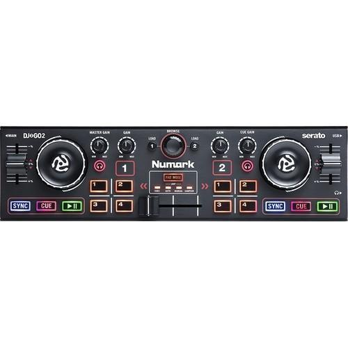 Numark DJ2GO2 Pocket DJ Controller with Audio Interface - Rock and Soul DJ Equipment and Records