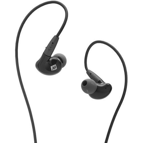 MEE audio Pinnacle P2 In-Ear Headphones with Detachable Cable (Black) - Rock and Soul DJ Equipment and Records