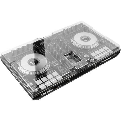 Decksaver Cover for Pioneer DDJ-SR2 and DDJ-RR (Smoked/Clear) - Rock and Soul DJ Equipment and Records