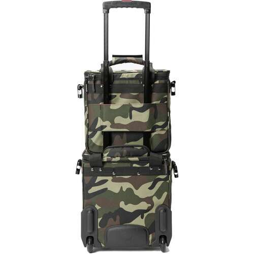 Magma Bags LP-Bag 50 (Camo-Green/Red) - Rock and Soul DJ Equipment and Records