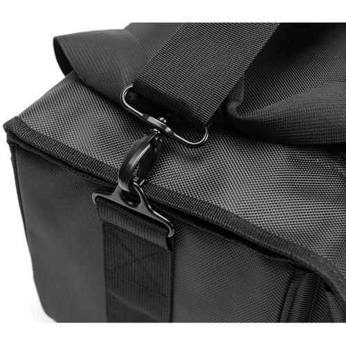 Magma Bags 45 Record Bag for up to 150 Records (Black/Khaki) - Rock and Soul DJ Equipment and Records