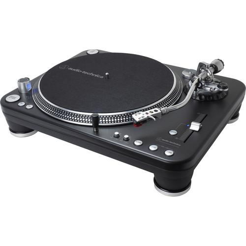 Audio-Technica AT-LP1240-USB XP Professional DJ Direct-Drive Turntable (USB & Analog) with AT-XP5 Cart - Rock and Soul DJ Equipment and Records