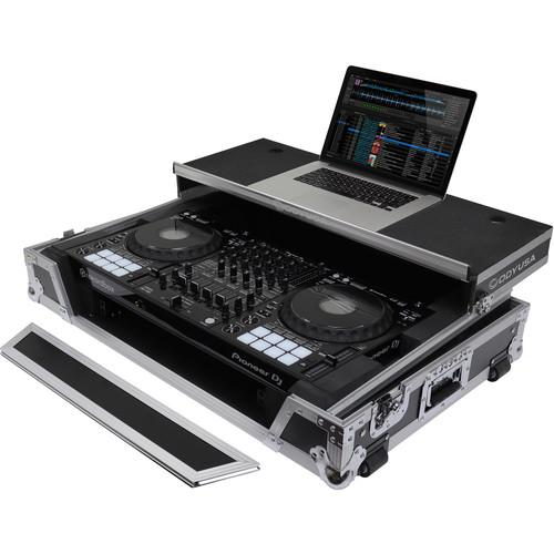 Odyssey Innovative Designs Flight Zone Glide Style Case for Pioneer DDJ-1000 Rekordbox DJ Controller - Rock and Soul DJ Equipment and Records