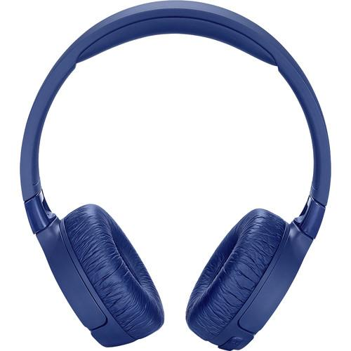 JBL TUNE 600BTNC Wireless On-Ear Headphones with Active Noise Cancellation (Blue)