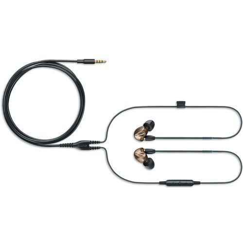 Shure SE535 Sound-Isolating In-Ear Stereo Headphones (Bronze) - Rock and Soul DJ Equipment and Records