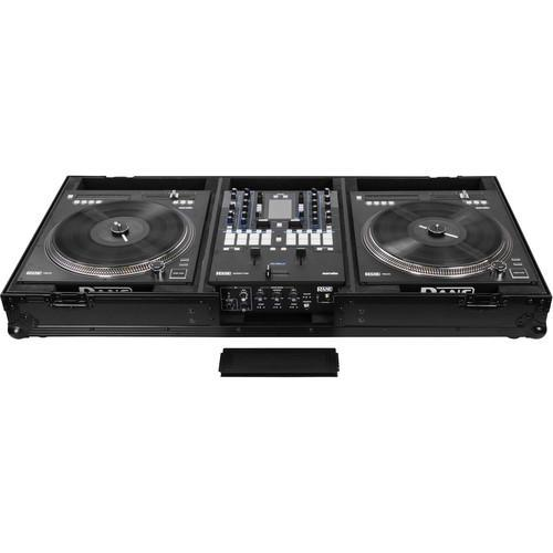 Odyssey Innovative Designs Black Label DJ Battle Coffin for Rane 72 Mixer and 2 Rane 12 Controllers - Rock and Soul DJ Equipment and Records