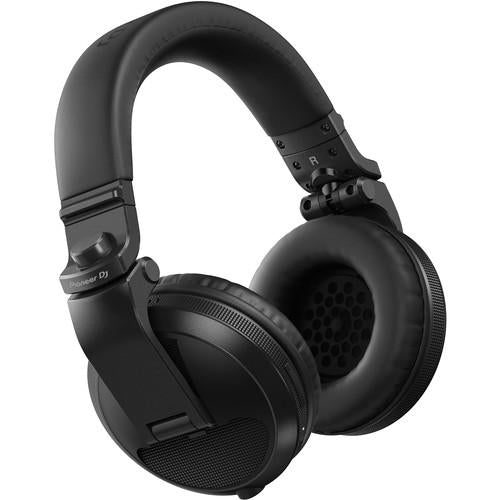 Pioneer DJ HDJ-X5BT Bluetooth Over-Ear DJ Headphones (Metallic Black) - Rock and Soul DJ Equipment and Records