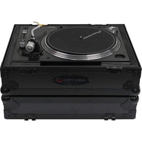 Odyssey FZ1200BL Black Label Turntable Flight Case - Rock and Soul DJ Equipment and Records