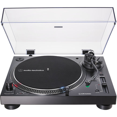 Audio-Technica Consumer AT-LP120XUSB Stereo Turntable (Black) - Rock and Soul DJ Equipment and Records