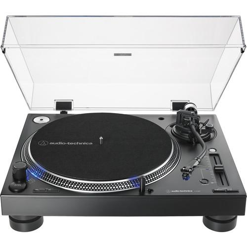 Audio-Technica Consumer AT-LP140XP Direct Drive Professional DJ Turntable (Black)