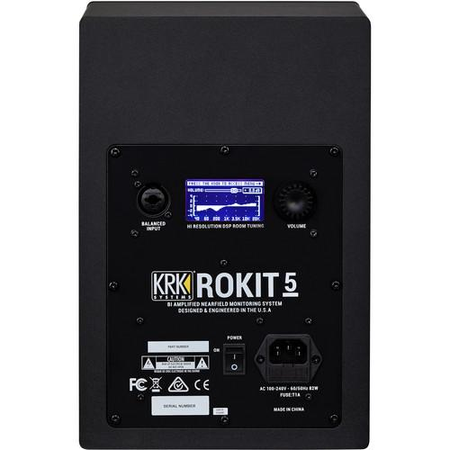 "KRK ROKIT RP5 G4 5"" Studio Monitor - Rock and Soul DJ Equipment and Records"