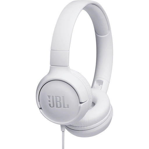 JBL TUNE 500 Wired On-Ear Headphones (White) - Rock and Soul DJ Equipment and Records