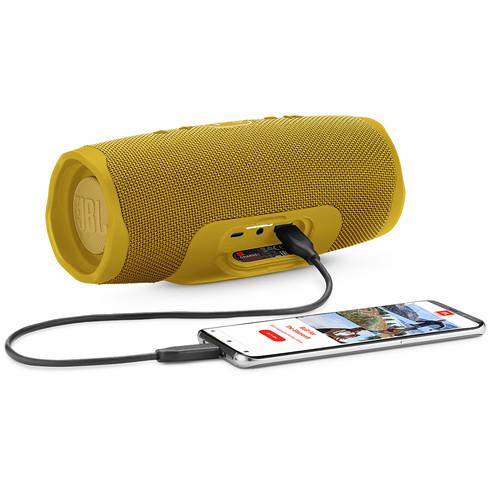 JBL Charge 4 Portable Bluetooth Speaker (Mustard Yellow)