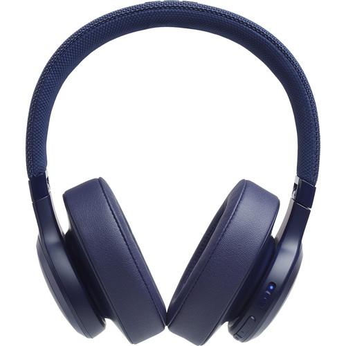 JBL LIVE 500BT Wireless Over-Ear Headphones (Blue) - Rock and Soul DJ Equipment and Records