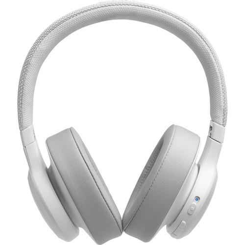 Jbl Live 500bt Wireless Over Ear Headphones White Rock And Soul Dj Equipment And Records