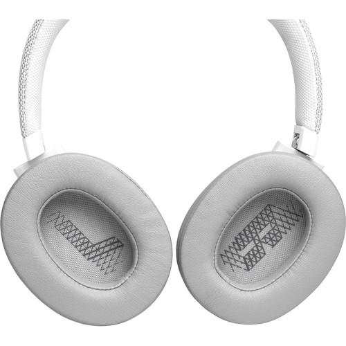 JBL LIVE 500BT Wireless Over-Ear Headphones (White) - Rock and Soul DJ Equipment and Records
