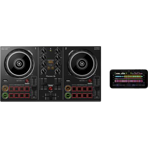 Pioneer DJ DDJ-200 Smart DJ Controller for WeDJ and rekordbox - Rock and Soul DJ Equipment and Records