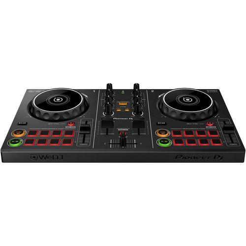 Pioneer DJ DDJ-200 Smart DJ Controller for WeDJ and rekordbox (Open Box) - Rock and Soul DJ Equipment and Records