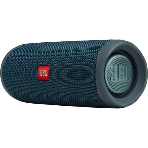 JBL Flip 5 Waterproof Bluetooth Speaker (Ocean Blue)
