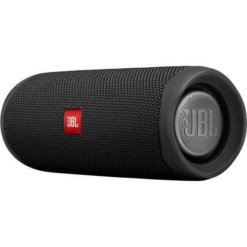 JBL Flip 5 Waterproof Bluetooth Speaker (Midnight Black) - Rock and Soul DJ Equipment and Records