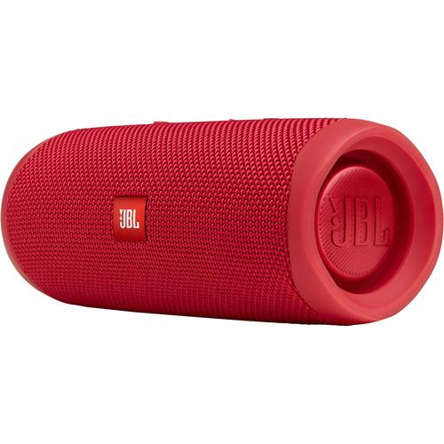 JBL Flip 5 Waterproof Bluetooth Speaker (Fiesta Red) - Rock and Soul DJ Equipment and Records