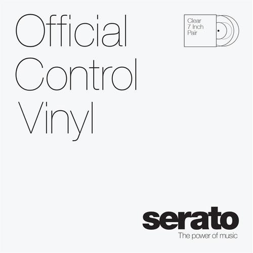 "Serato 7"" Control Vinyl (Pair, Clear) - Rock and Soul DJ Equipment and Records"