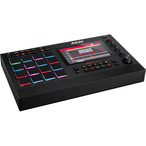 Akai Professional MPC Live II Standalone Music Production Center - Rock and Soul DJ Equipment and Records