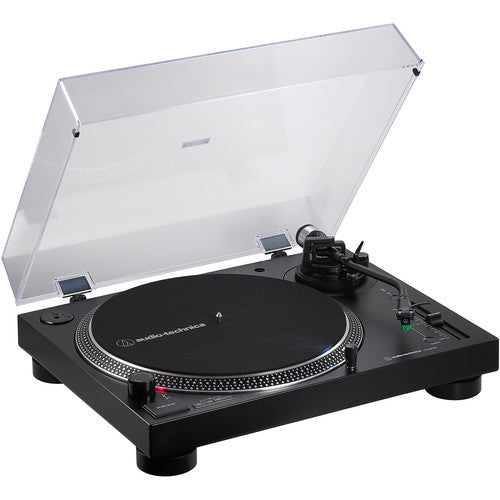 Audio-Technica Consumer AT-LP120XBT-USB Stereo Turntable with USB and Bluetooth (Black) - Rock and Soul DJ Equipment and Records