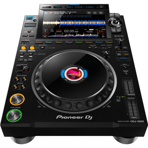 Pioneer DJ CDJ-3000 High-Resolution Pro-DJ Multiplayer (Black) - Rock and Soul DJ Equipment and Records